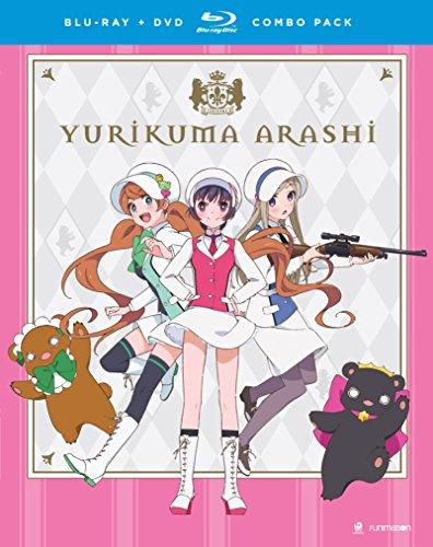 Yurikuma Arashi: The Complete Series (Blu-ray/DVD Combo)