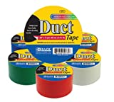 """BAZIC Assorted Colored Duct Tape. Heavy Duty Duct Tape for Crafts and Home (1.89"""" X 10 Yard)"""