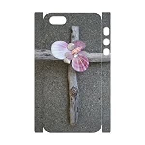 3D Bumper Plastic Customized Case Of Jesus Christ Cross for iPhone 5,5S