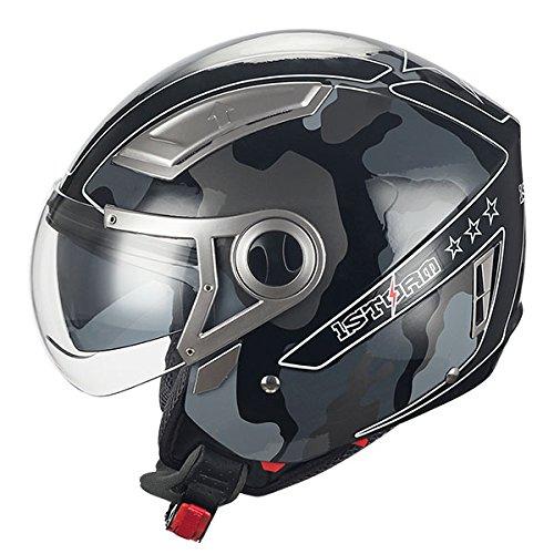 Camouflage Motorcycle Helmet - 8