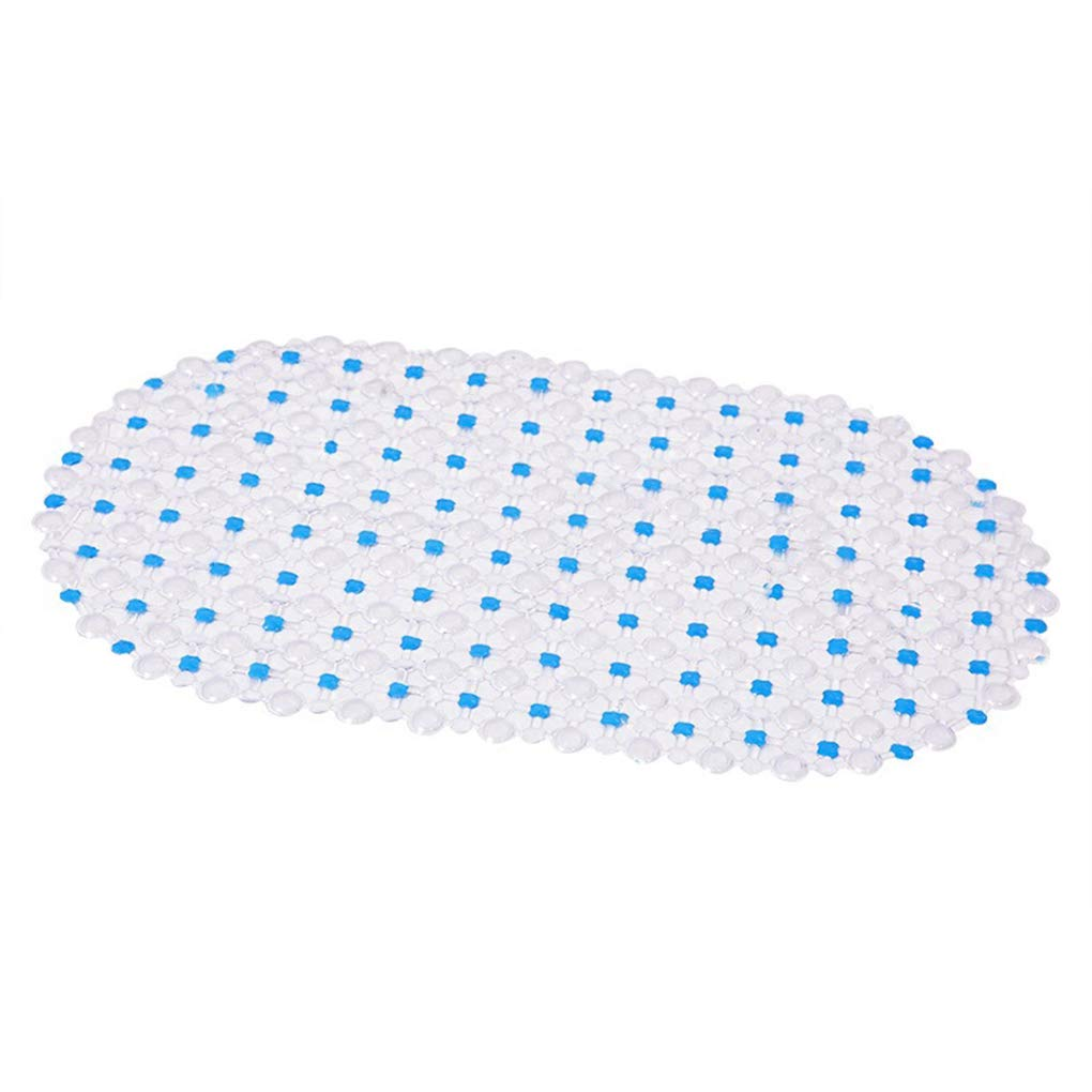 Demino Oval Dot Duschmatten Anti-Rutsch-PVC Bad Teppich Saugnapf Antibakteriell K/üche Badezimmer-Fuss-Auflage Gr/ün 37 66cm