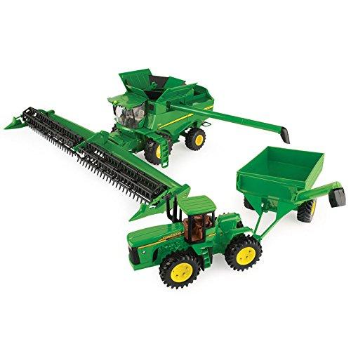 John Deere Combine Harvesting Set - (John Deere Grain)