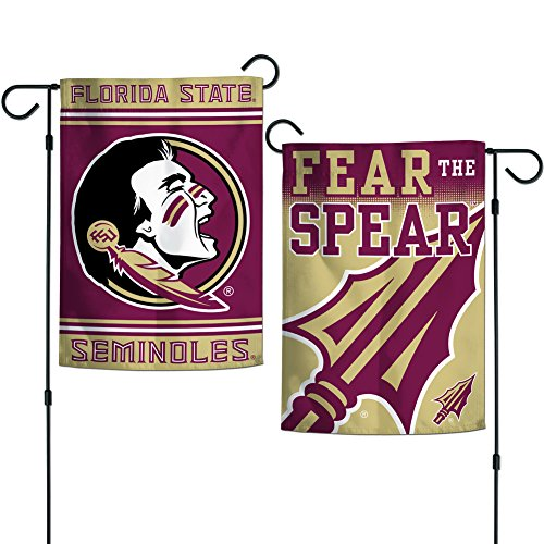 Elite Fan Shop Florida State Seminoles Garden Flag 12.5