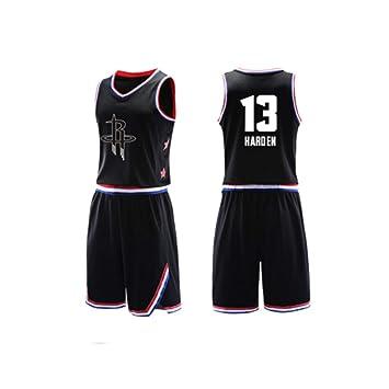 pretty nice db6df b3bdb LCBH Kid Boy Men's NBA James Harden Damian Lillard #13#0 ...