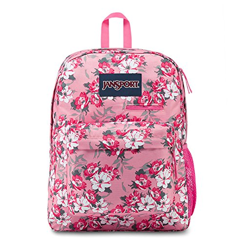(JanSport Digibreak Laptop Backpack - Prism Pink Pretty Posey)