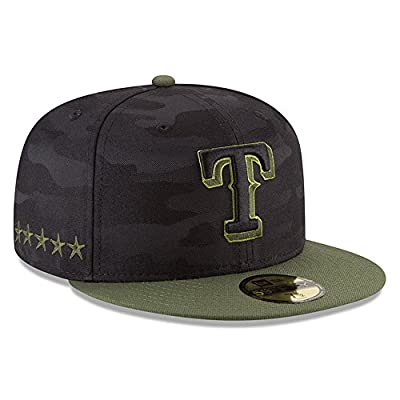 New Era Texas Rangers 2018 Memorial Day 59FIFTY On Field Fitted Hat 8