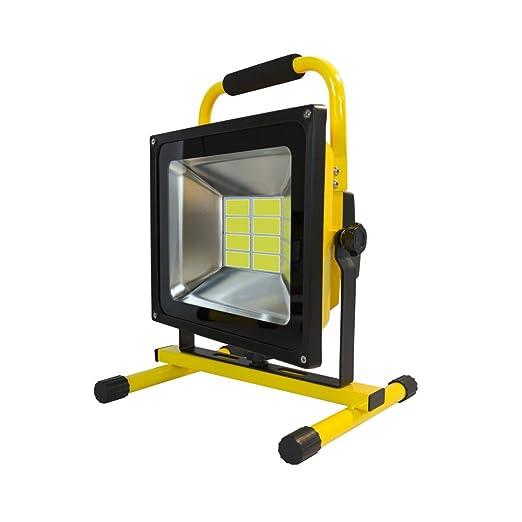 Ledovet - Foco Proyector LED Portátil 50W - Foco LED para trabajo ...