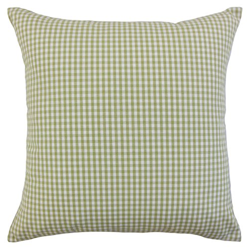 - The Pillow Collection Sage Keats Plaid Bedding Sham, Euro/26