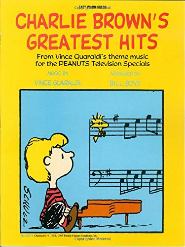 Charlie Brown's Greatest Hits (Brown Piano Christmas Solo Charlie)