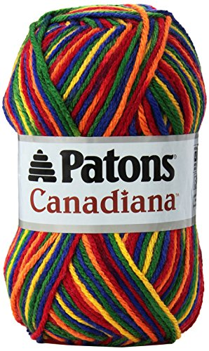 Spinrite Canadiana Yarn Ombres, Rainbow