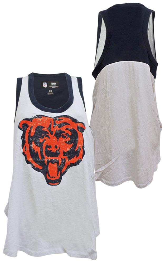 c9006595 Amazon.com : G-III Sports Chicago Bears Womens Power Alley Tank Top ...