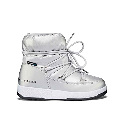 Moon Boot - Zapatillas de Senderismo para niño Plateado Size: 30 EU: Amazon.es: Zapatos y complementos