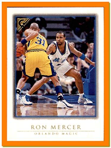 1999-00 Topps Gallery #96 Ron Mercer ORLANDO MAGIC KENTUCKY WILDCATS guarding Reggie Miller Pacers