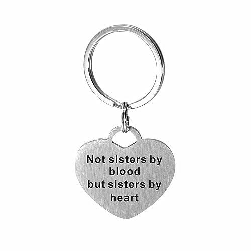 Amazon.com: Corazón de acero inoxidable amigo de la familia ...