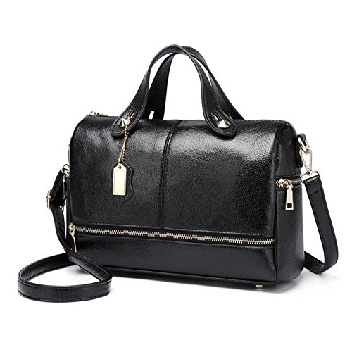 bcdf9e019204 Amazon.com  PAVEL 2018 New Big Retro Women Tote Bags Women Boston Handbag  Women PU Leather Messenger Bags Pillow Shoulder Bag  Clothing