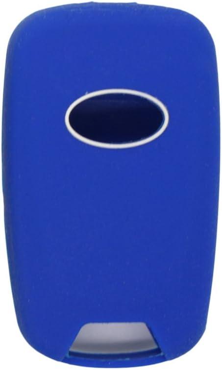 SEGADEN Silicone Cover Protector Case Holder Skin Jacket Compatible with HYUNDAI KIA 3 Button Flip Remote Key Fob CV2152 Purple