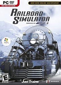 PC Railroad Simulator Powered by Trainz 12