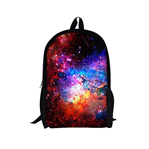 Galaxy Backpack School Teenager Daypack