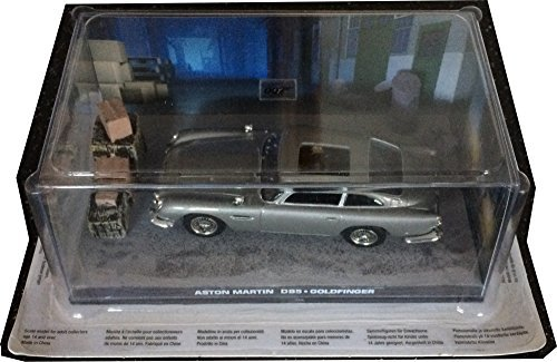 Aston Martin DB5 Diecast Model Car from James Bond Goldfinger by Ex Mag ()