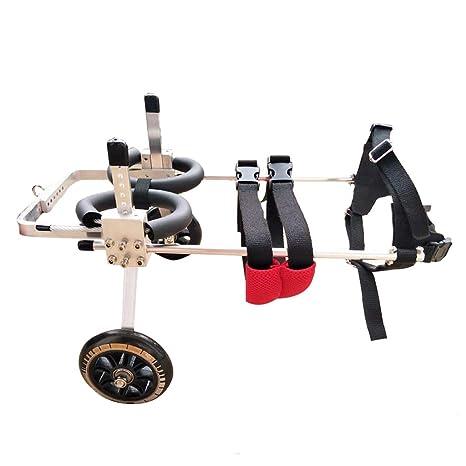 JKL Ciclomotor para mascotas: Silla de ruedas para perros, Scooter para caminar de perros