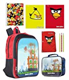 "Angry Birds 16"" Lenticular Backpack and Ultimate Back To School Set"
