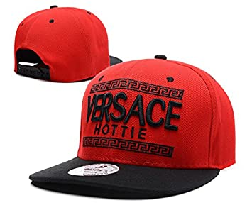 Flat Brim Fashion Home Versace Cap Snapback Cap Hat  Amazon.co.uk  Sports    Outdoors 085e570697a