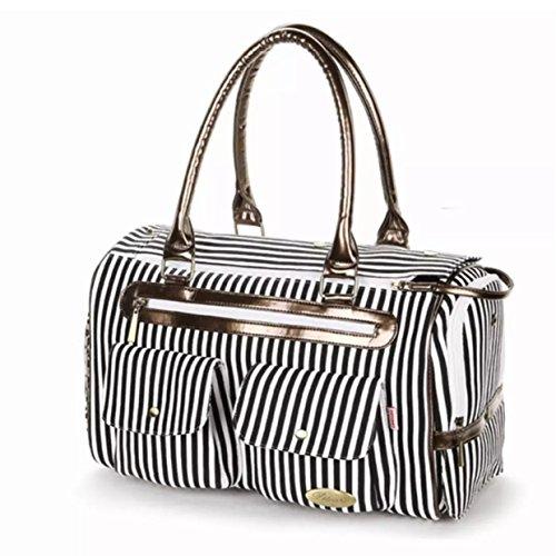 HOODDEAL-Fashion-Dog-Carrier-Dog-Handbag-Dog-Purse-Tote-Bag-Pet-Cat-Dog-Hiking-Backpack-Black