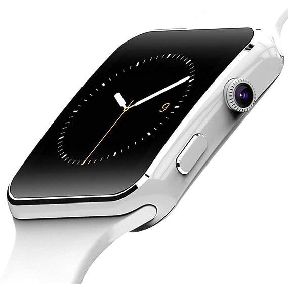 Amazon.com: NOKKOO Smart Watch X6 Bluetooth Smart Watch ...