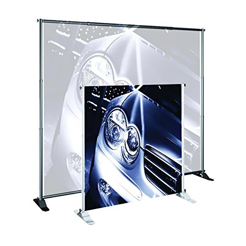 Testrite Visual Office Tradeshow Display Grand Format Banner Stand 52