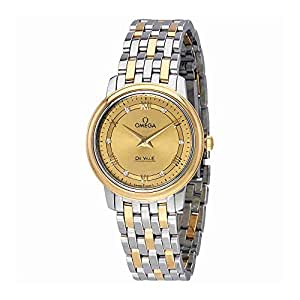Omega De Ville Prestige Champagne Dial Ladies Watch 424.20.27.60.58.003