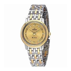 Omega De Ville Prestige Champagne Dial Ladies Watch 424.20.27.60.58.003