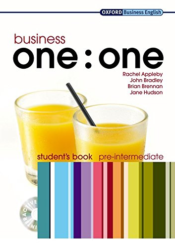 Business one:one Pre-intermediate: MultiROM included Student's Book Pack (Oxford Business English)