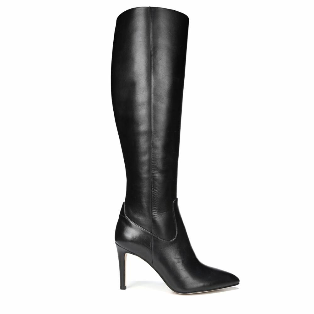 Sam Edelman Women's Olencia Knee High Boot B06XJJG49H 7.5 C/D US|Black Modena Calf Leather
