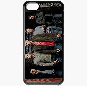 Personalized iPhone 5C Cell phone Case/Cover Skin 3 Doors Down House Jeans Haircut Band Black