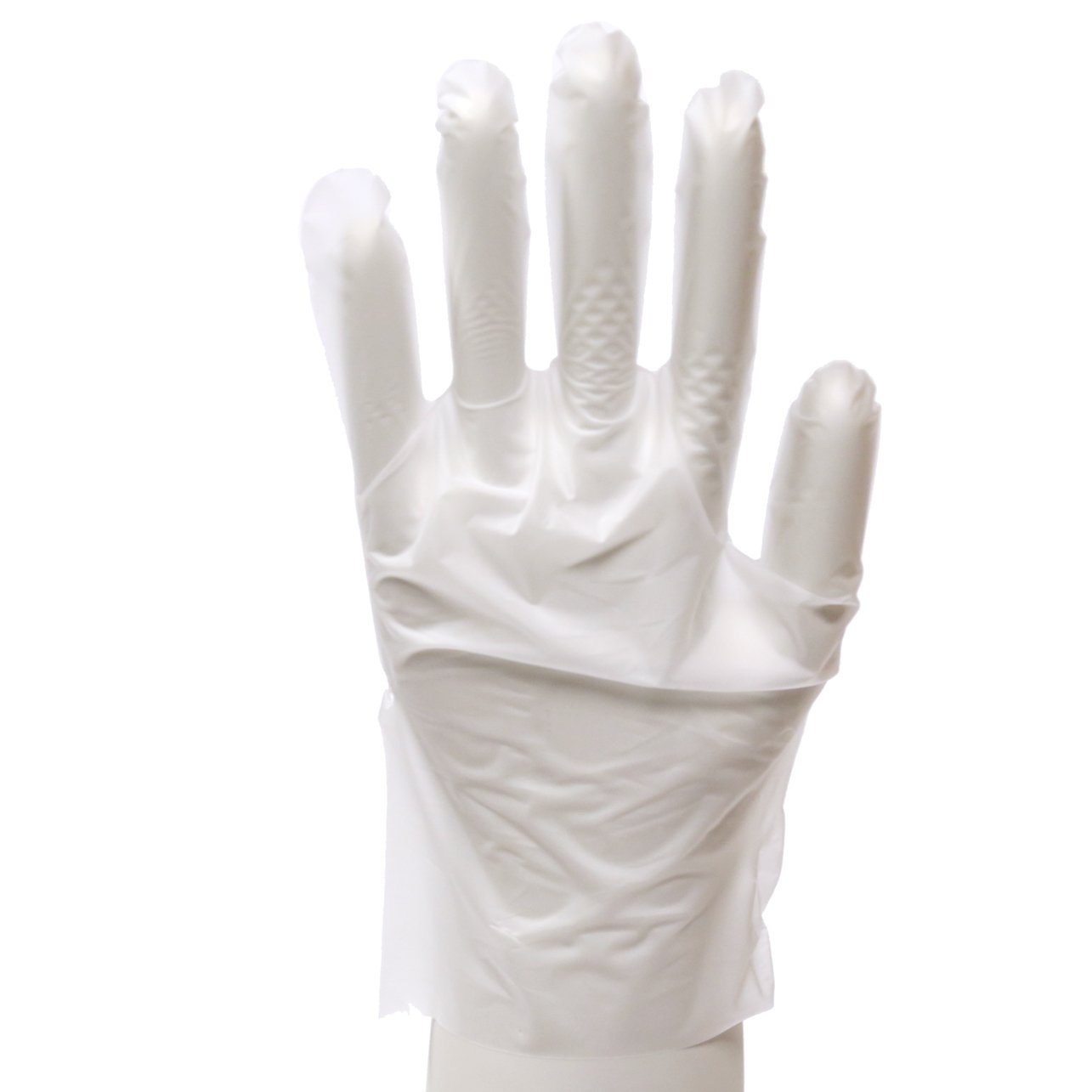 Daxwell Stretch Polyethylene Glove, Extra Large, White (10 Boxes of 100 Gloves)
