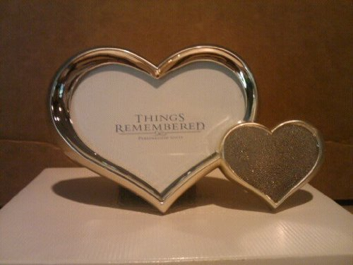 Amazon.com - Things Remembered Mini Heart Frame #571157 - Double Frames