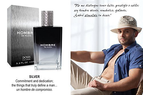 Amazon.com : Hombre De Plata Mens Perfume 3.3 Fl Oz By Alejandra Espinoza : Beauty