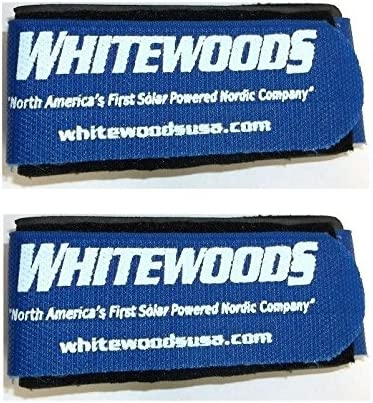Hold Together Easier to Carry Blue Cross Country Ski Ties Whitewoods Set 2
