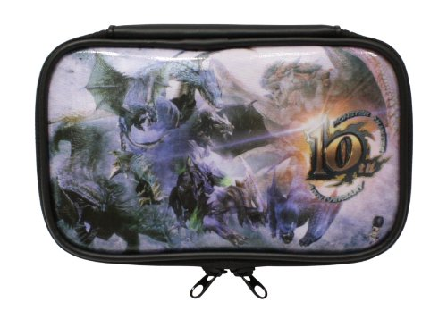 Monster Hunter 10th Anniversary Nintendo 3DS XL pouch