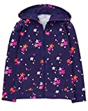 Gymboree Little Girls' Printed Hoodie, Navy Floral, M