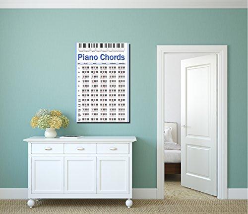 - COLORSFORU Piano Chords Custom Poster 20x30 Inch Wall Art Print Home Modern Decoration