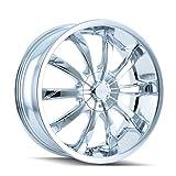 "DIP Slack D66 Chrome Wheel (22x8"")"
