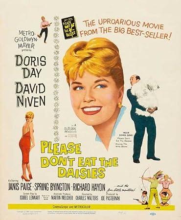 Amazon Com Please Don T Eat The Daisies Poster Movie B 27 X 40 Inches 69cm X 102cm Doris Day David Niven Janis Paige Spring Byington Richard Haydn Furniture Decor