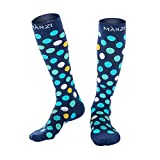 Compression Socks for Men & Women, 20-25 mmHg Graduated Compression for Ultimate Performance & Faster Recovery, Running Casual Socks for Athletes, Nurses, Travelers, Maternity & Pregnancy, 1 Pack