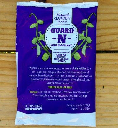 (Homesteader Hobbies Inoculant for Garden Peas, Sweet Peas, Beans, Lima Beans & Soybeans | Organic Guard-N Inoculant)