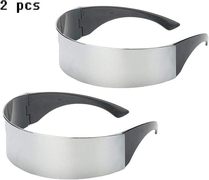 Queta 2 Piezas Gafas para Fiestas con Robot Espacial Soldado ...