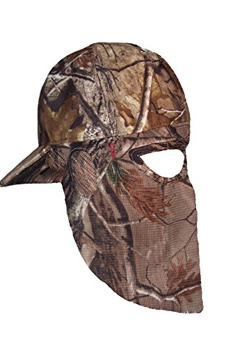 Realtree AP REAR QuikCamo Facemasks Mens Hunting Hat Camo Mask Adjustable Fits Most