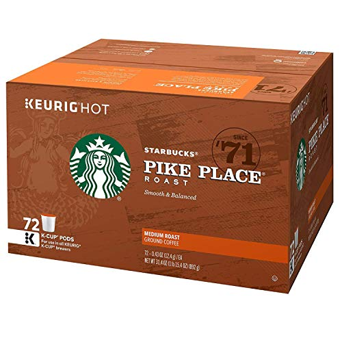 Product of Starbucks Pike Place K-Cups (72 ct.) - [Bulk Savings]