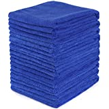 10pcs Multi-purpose Soft Microfiber Absorbent Car Kitchen Wash Cleaning Polish Towel Cloth 30x30cm (10)