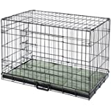 Confidence Pet 2 Door Dog Cage Crate With Bed